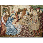 Tapestry of Christmas: Adoration of the Kings the Child