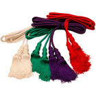 Cincture in the four liturgical colors blanco