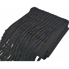 Fascia sash with fringes black