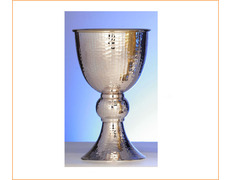 Chalice of silver romanesque