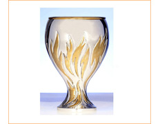 Chalice of silver with gilt décor