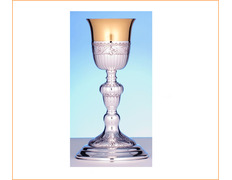 Chalice of silver, 24.5 cm high