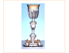 Chalice of silver imperial model