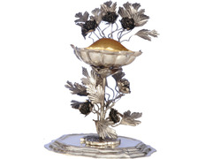 Benditera of sterling silver for the table