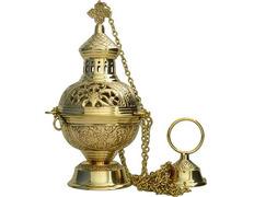 Censer of metal | Botafumeiro gold
