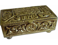 Box of brass for keys Sanctum