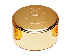 Box of shapes with gold-plated - 4 cm of height