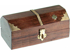 Cash for keys of wood with Cross