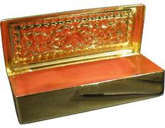Cash for keys made in golden metal