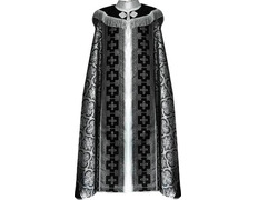 Layer storm fabric brocada black with JHS embroidered