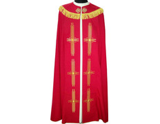 Cape of polyester in the four liturgical colors