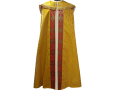 Cape color brocade and gold