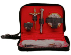 Portfolio of Sacraments with sleeve zipper
