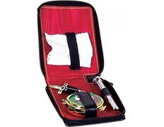 Portfolio Sacraments of faux leather with zipper