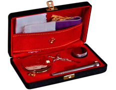 Portfolio of Sacraments rigid leatherette