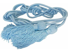 Cincture in polyester light blue
