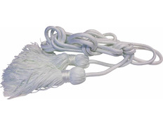 Cincture in polyester white