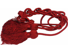 Cincture in polyester red