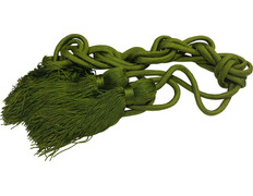 Cincture in polyester green