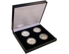 Collection of silver coins of Santiago de Compostela