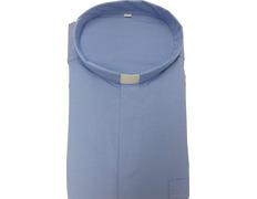 Shirt quality extra with neck strip, light blue