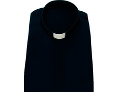 Shirt quality extra with neck strip navy blue