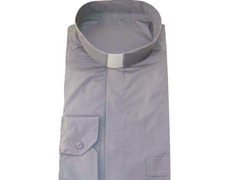 Shirt quality extra with neck strip, light gray
