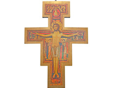 San Damiano cross wall