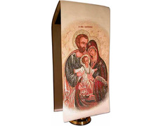 Cloth stand of the Holy Family