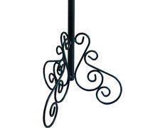 Porta varal wrought iron