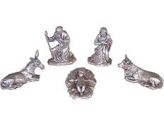 Bethlehem, with figures of metal   cm-3 cm