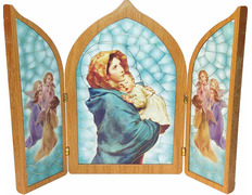 Pamphlets, religious - The little madonna of Ferruzzi