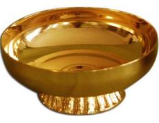 Chalice paten with base - 12 cm diameter