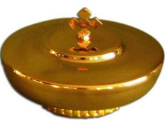 Chalice paten with base and lid - 10 cm diameter