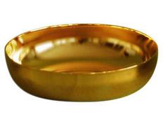 Ciborium paten-metal - 12 cm diameter