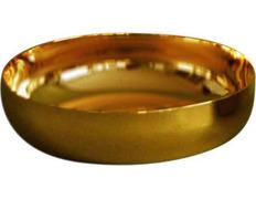 Ciborium paten-metal - 14 cm in diameter
