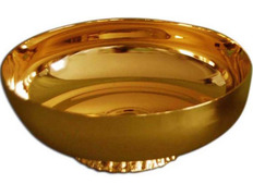 Chalice paten with base - 14 cm diameter