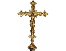 Cruz parish of bronze   the Four Evangelists