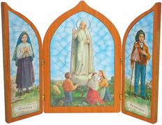 Box Lady of Fatima - Triptych of the apparitions