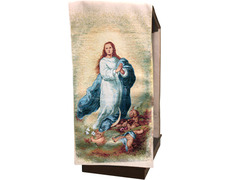 Covers lectern of the Immaculate Conception