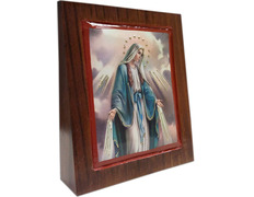 Picture of the Virgin, Miraculous wedge of wood