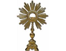 Custody baroque bronze