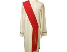 Stoles for deacons | Four colors red