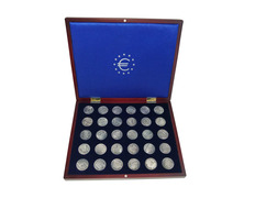 Coins-medals of the stages of the Camino de Santiago