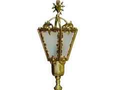 Lantern for processions   Bluff Sacred Heart