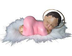Sleeping Baby Jesus Statue rosa
