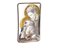 Icon silver 13 cm - Holy Family