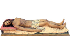 Recumbent christ for the tomb