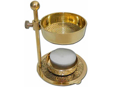 Censer home with height adjustable gold