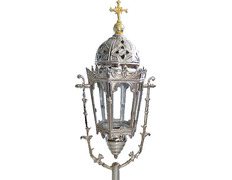 Processional Candles Holders silver